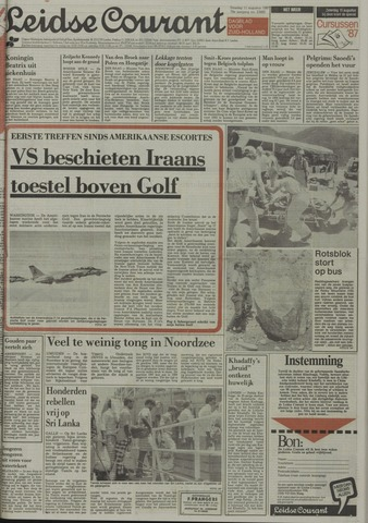 Leidse Courant 1987-08-11