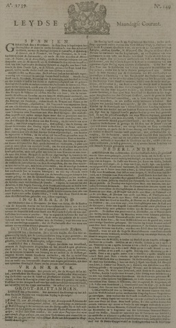Leydse Courant 1739-12-14