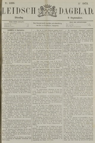 Leidsch Dagblad 1873-09-09