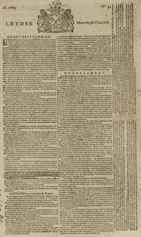 Leydse Courant 1763-03-21