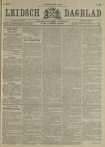 Leidsch Dagblad 1911-07-28