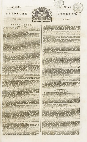 Leydse Courant 1841-06-04