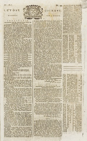 Leydse Courant 1817-03-31
