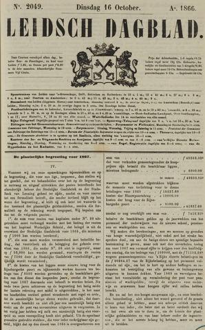 Leidsch Dagblad 1866-10-16