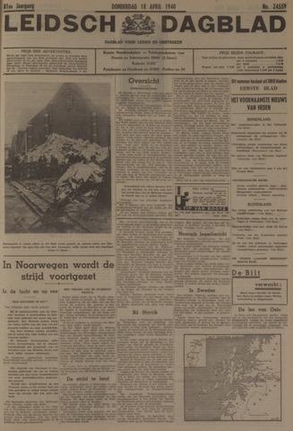 Leidsch Dagblad 1940-04-18