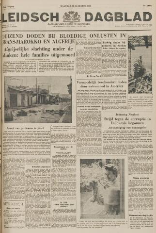 Leidsch Dagblad 1955-08-22