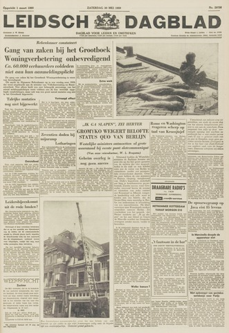 Leidsch Dagblad 1959-05-30