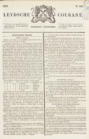 Leydse Courant 1853-09-07