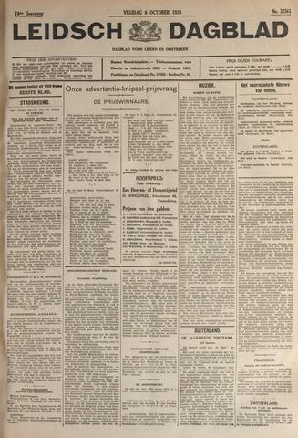 Leidsch Dagblad 1933-10-06