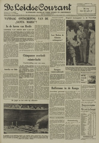 Leidse Courant 1961-02-01