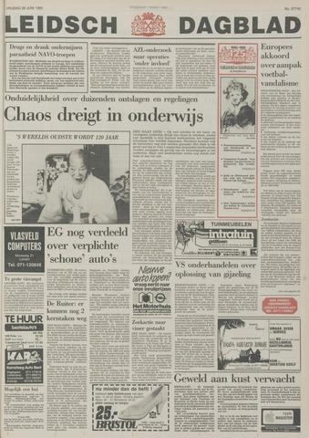 Leidsch Dagblad 1985-06-28