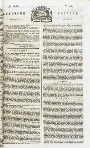 Leydse Courant 1843-07-28