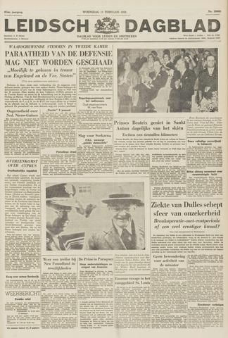 Leidsch Dagblad 1959-02-11