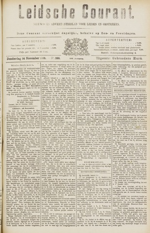 Leydse Courant 1889-11-14