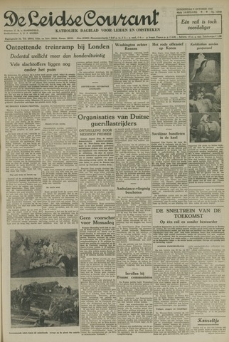 Leidse Courant 1952-10-09