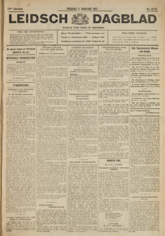 Leidsch Dagblad 1931