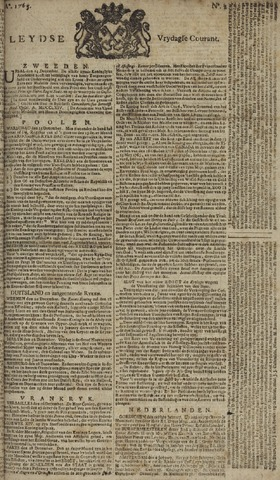 Leydse Courant 1765-01-04
