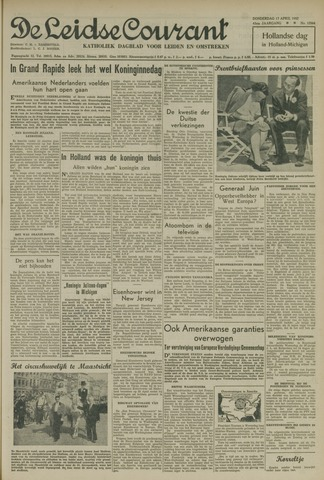 Leidse Courant 1952-04-17