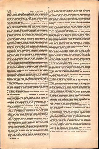 Handelingen van de Raad 1877-04-25