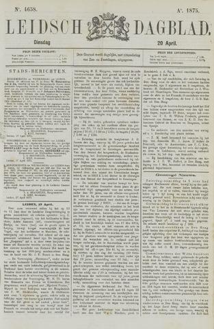 Leidsch Dagblad 1875-04-20