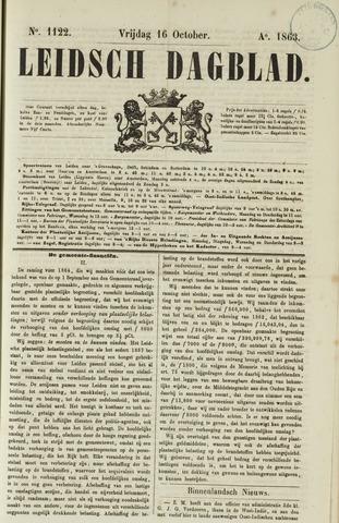 Leidsch Dagblad 1863-10-16