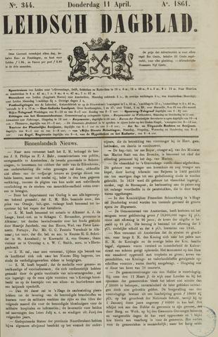 Leidsch Dagblad 1861-04-11