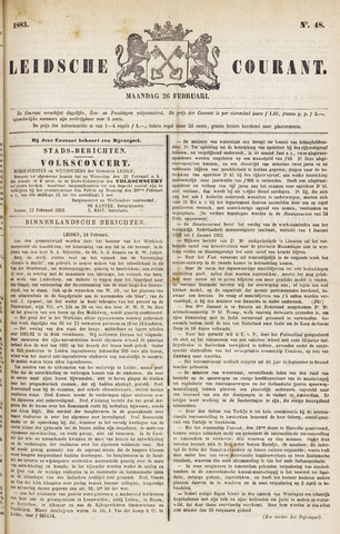 Leydse Courant 1883-02-26