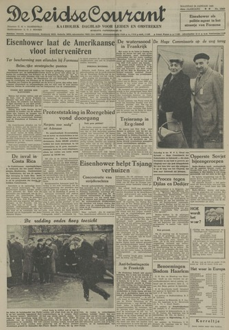Leidse Courant 1955-01-24
