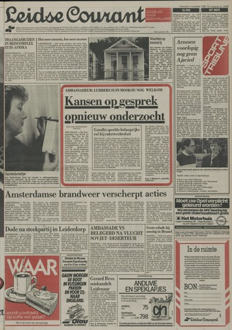 Leidse Courant 1985-11-04