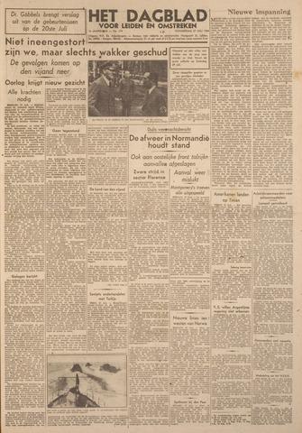 Dagblad voor Leiden en Omstreken 1944-07-27