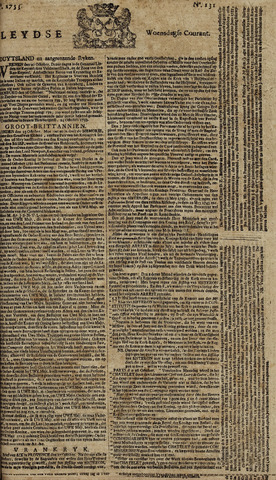 Leydse Courant 1753-10-31