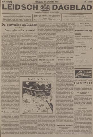 Leidsch Dagblad 1940-09-18