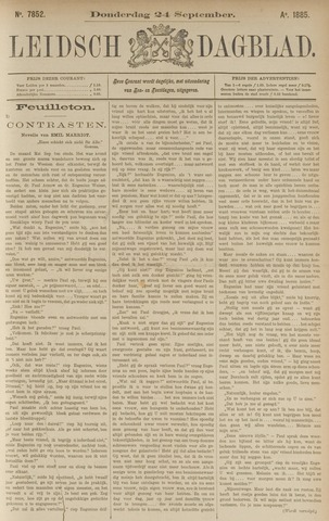 Leidsch Dagblad 1885-09-24