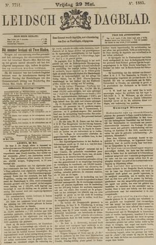 Leidsch Dagblad 1885-05-29
