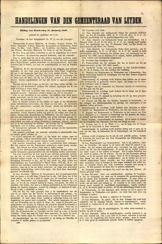 Handelingen van de Raad 1869-01-21