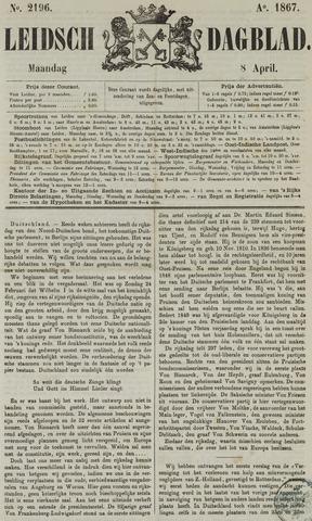 Leidsch Dagblad 1867-04-08