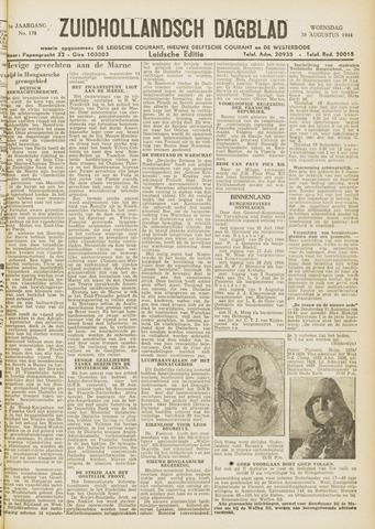 Zuidhollandsch Dagblad 1944-08-30