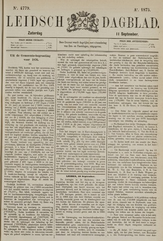 Leidsch Dagblad 1875-09-11