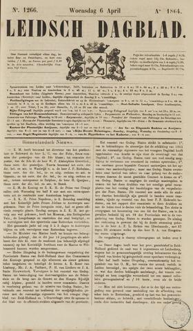 Leidsch Dagblad 1864-04-06
