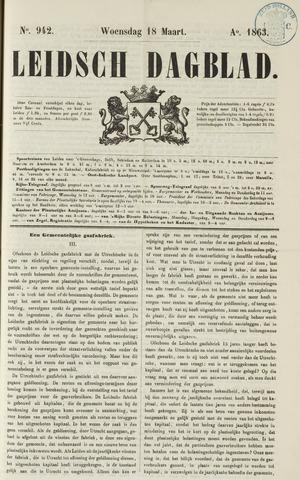 Leidsch Dagblad 1863-03-18