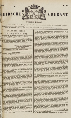 Leydse Courant 1885-03-04