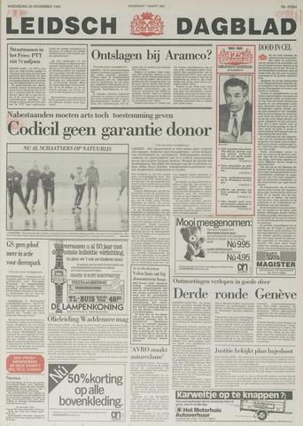 Leidsch Dagblad 1985-11-20
