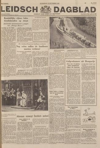 Leidsch Dagblad 1951-09-19
