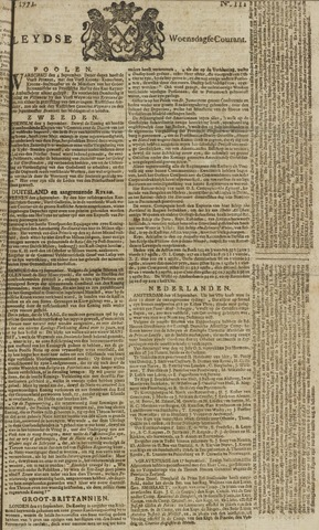 Leydse Courant 1771-09-18