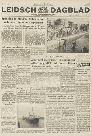 Leidsch Dagblad 1956-11-27