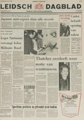 Leidsch Dagblad 1980-07-30