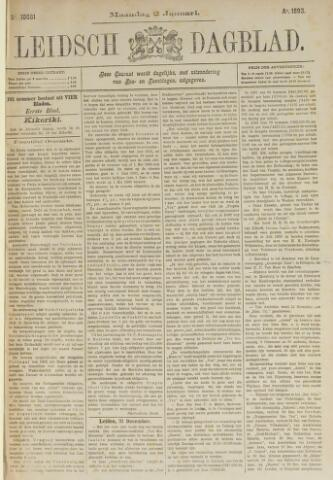 Leidsch Dagblad 1893