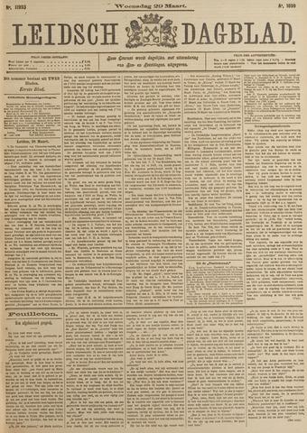 Leidsch Dagblad 1899-03-29