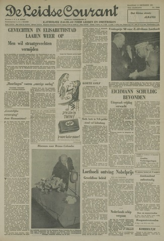 Leidse Courant 1961-12-11