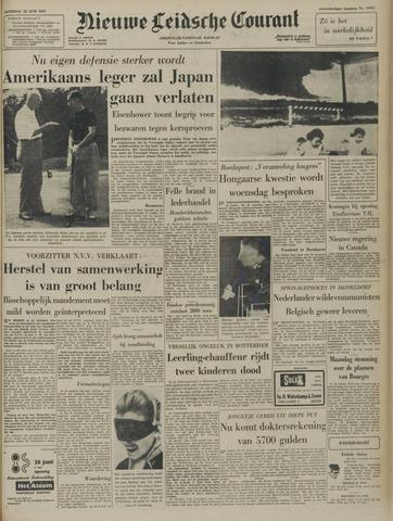 Nieuwe Leidsche Courant 1957-06-22